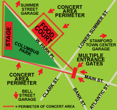 Map of Alive at Five Stamford
